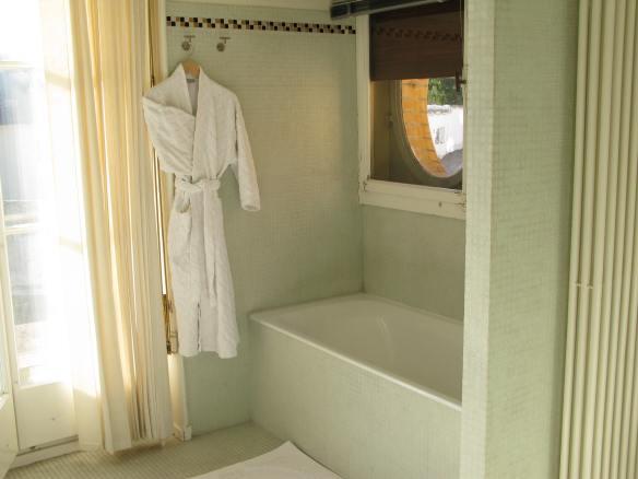 Bathroom, Le Corbusier's Villa Schwob. Photo 2010.