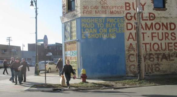 Detroit, near Michigan Central Station, 2011